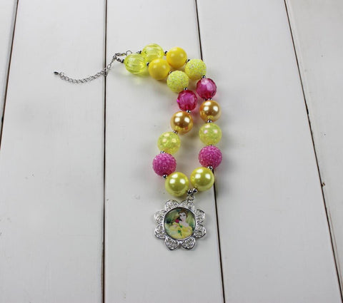 Belle Chunky Bubble Necklace