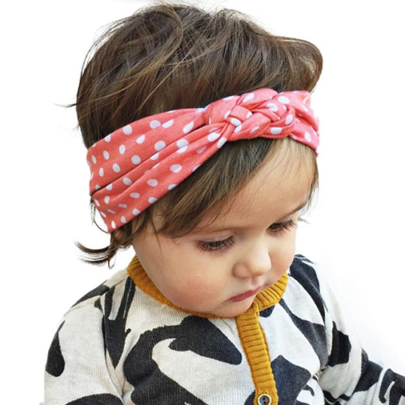 2017 New Fashion Dot Cross    girl headbands Weave Twist Headband