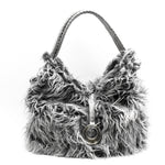 Load the image into the Gallery viewer, Borsa P100  Long Fur - Alibishop