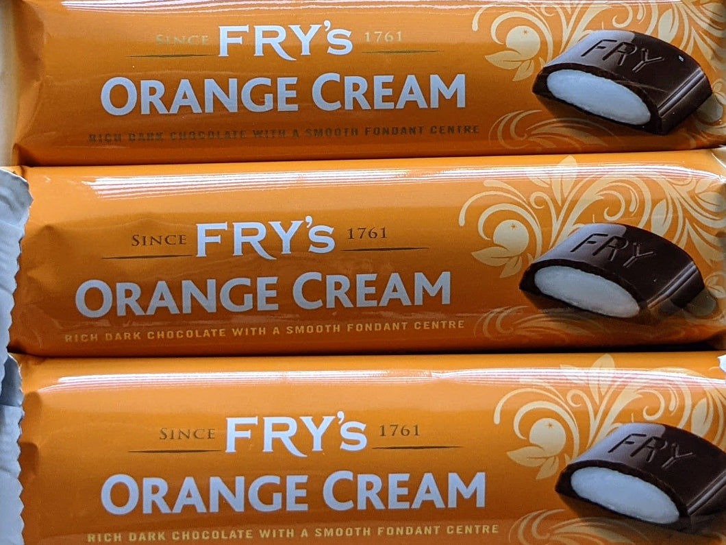 Fry's Orange Cream Bar - 3 pack (49g x 3)