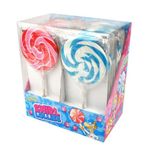 Load image into Gallery viewer, Strawberry & Bubblegum Swirl Lollies (80g)