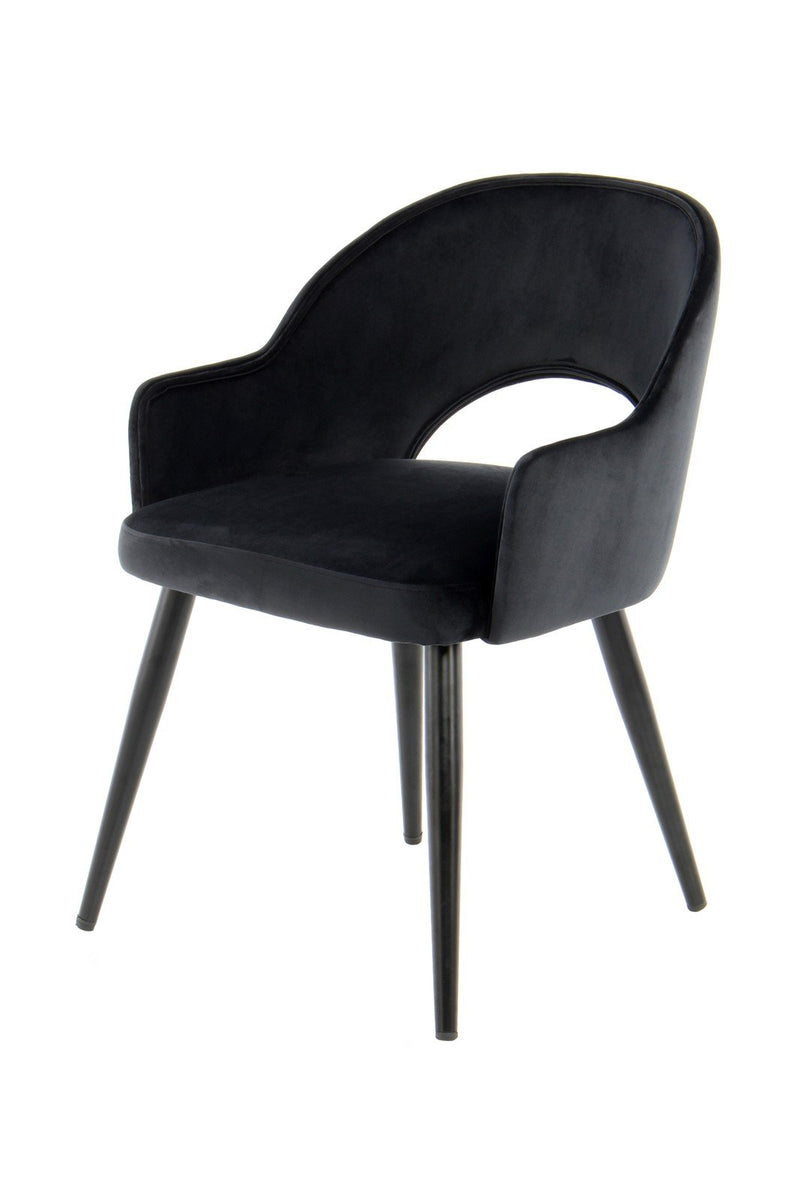 Chaise - Joris 110 Lot de 2 Noir - GQELJ | Emmarlin.com