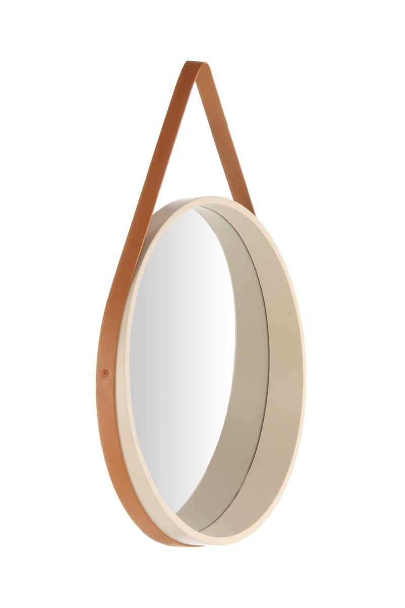 Wall Mirror - Ultima 110 Creme - Brown