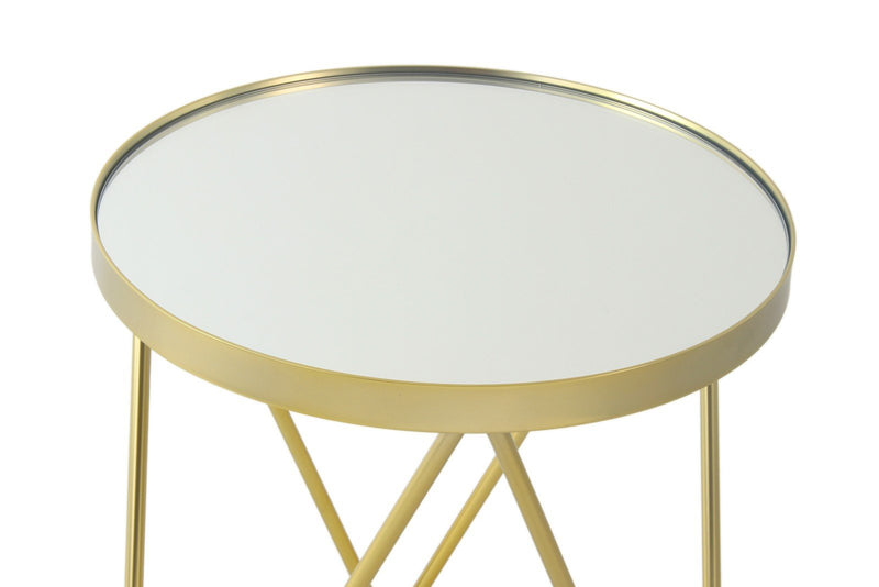 Table d'appoint doré - Bonnie 110 GQIWL | Emmarlin