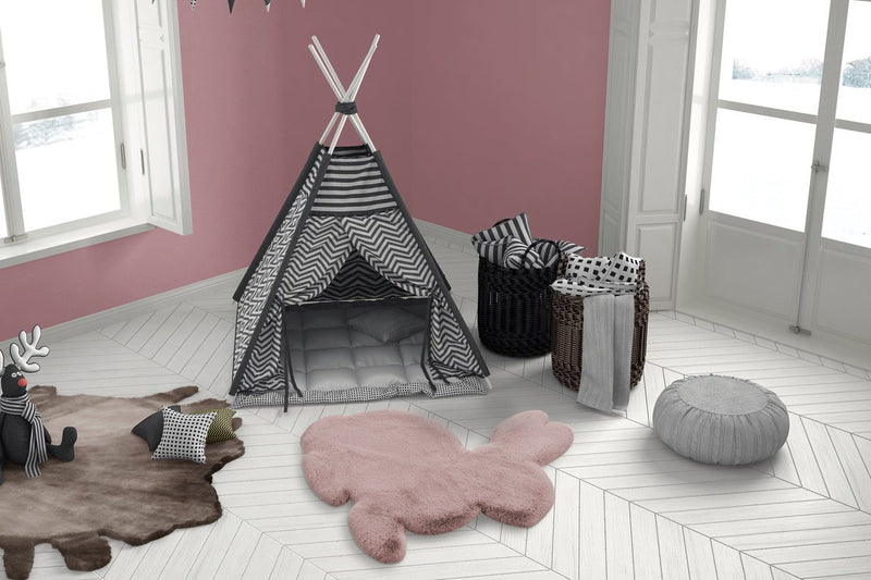 Tapis Enfant - Lovely Kids Lapin 725 80x90cm | Emmarlin.com