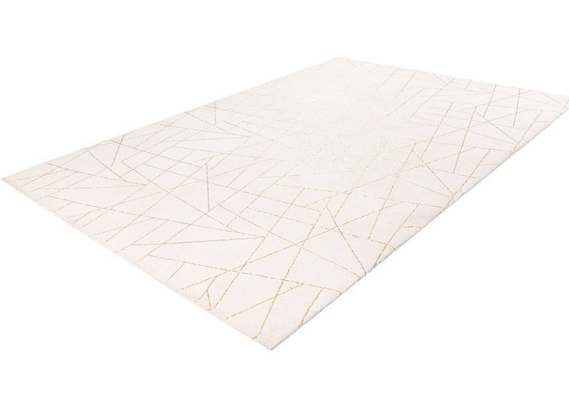 Modern Carpet - Jewel 125 Creme - Gold