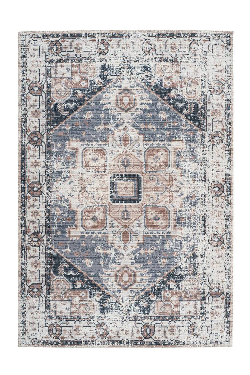 Woven Rug - Indiana 100 Gray - Brown