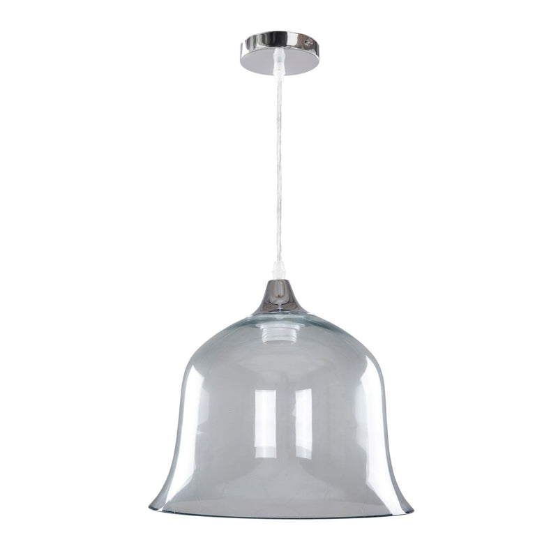 Lampe suspension en verre - Pandori 200 bleu | Emmarlin