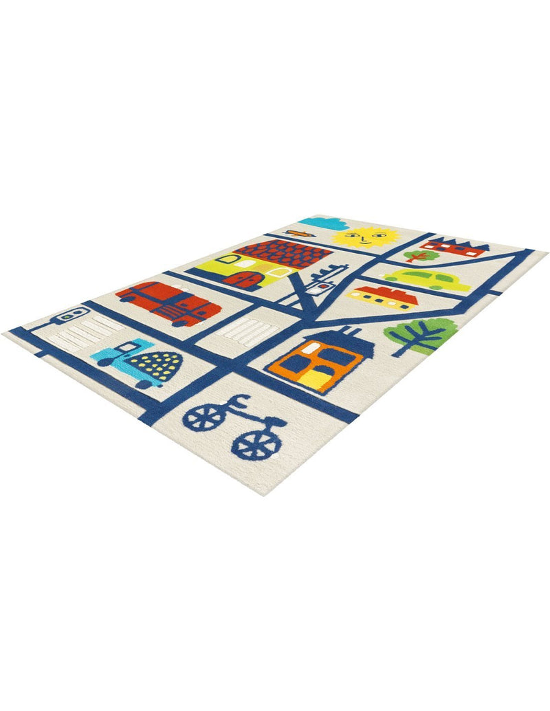 Tapis enfant - Spirit Glowy 3138 City | Emmarlin