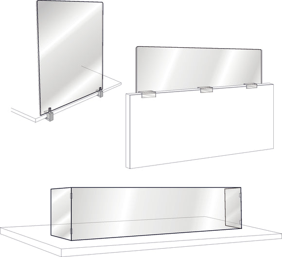 acrylic shields and barriers