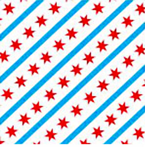 Chicago Flag Cloth Face Mask