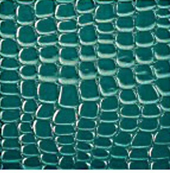 Teal Snake Skin Cloth Face Mask