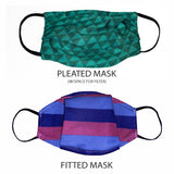 Blue Stripes Cloth Face Mask