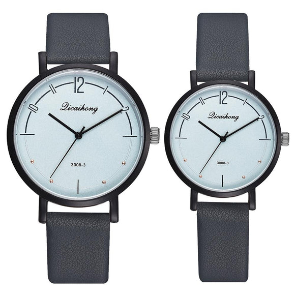 Drop Shipping Relogio Couples Watch Leather Quartz Watch Fashion Sport Clock Men's Watches Women's Watches Gifts Sevgili Saati