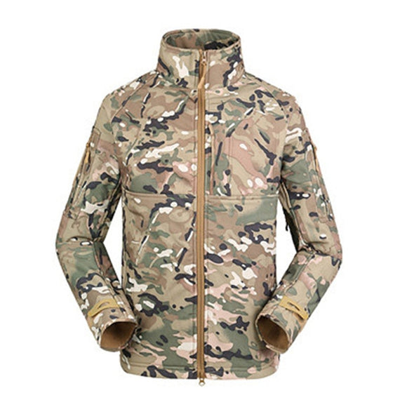 2019 North Winter Army Men's Jackets Military Parkas Rainproof Windproof Face Outdoor Sport Climbing Coats Plus Size Clothes