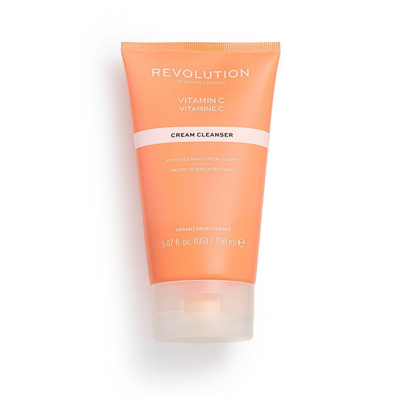 Revolution Skincare Vitamin C Brightening Cream Cleanser