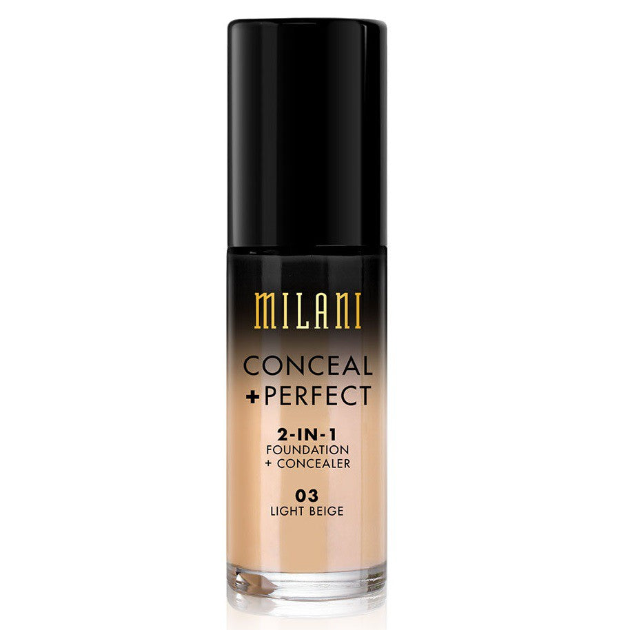 Milani Conceal & Perfect Foundation - 03 Light Beige