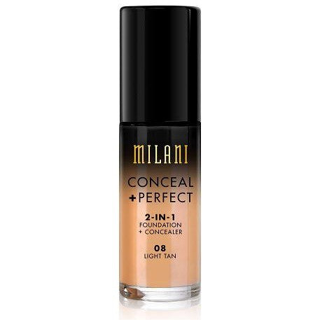 Milani Conceal & Perfect Foundation - 08 Light Tan