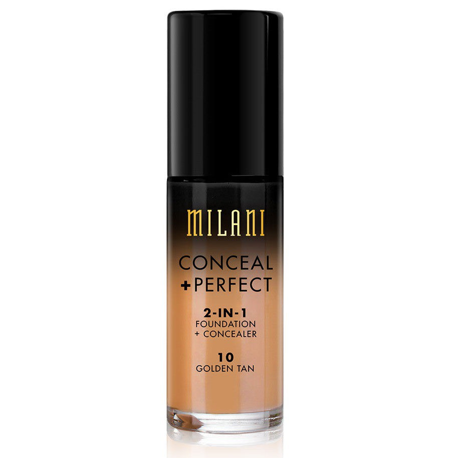 Milani Conceal & Perfect Foundation - 10 Golden Tan
