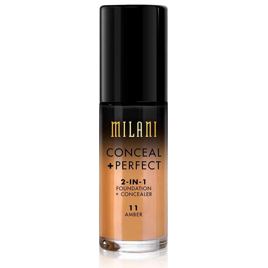 Milani Conceal & Perfect Foundation - 11 Amber