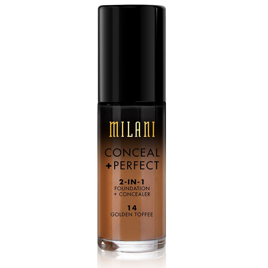 Milani Conceal & Perfect Foundation - 14 Golden Toffee