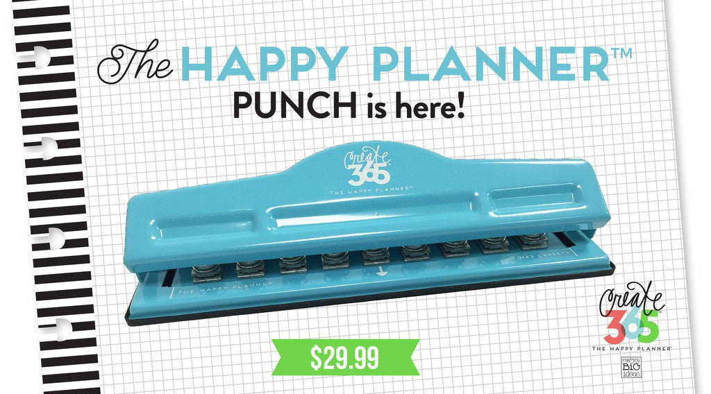 Happy Planner - Perforatrice
