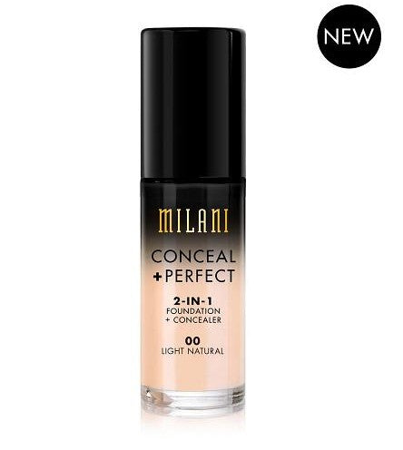 Milani Conceal & Perfect Foundation - 00 Light Natural