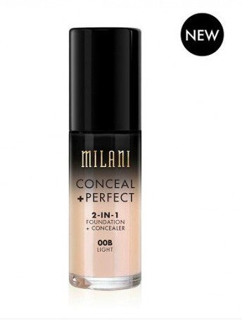 Milani Conceal & Perfect Foundation - 00B Light