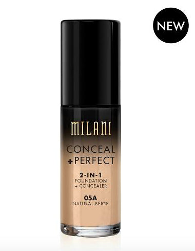 Milani Conceal & Perfect Foundation - 05A Natural Beige