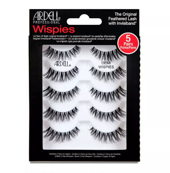 ARDELL Natural & Glamour - Multipack Demi Wispies Black