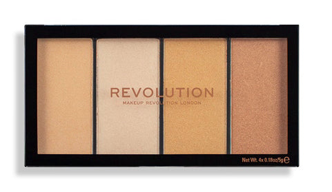 Makeup Revolution Reloaded Lustre Lights - Warm
