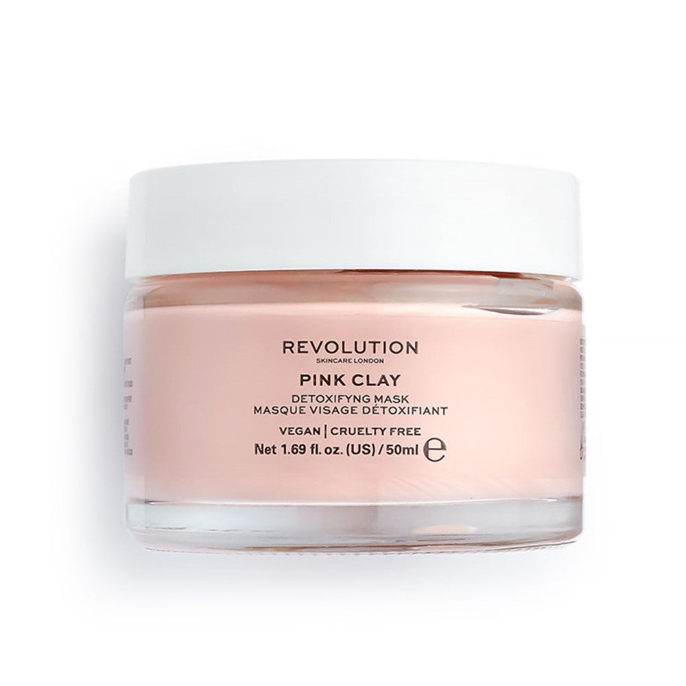 Revolution Skin Pink Clay Detoxifiying Mask