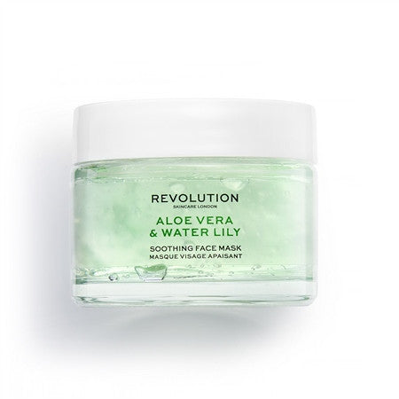 Revolution Skin Aloe Vera & Water Lily Soothing Face Mask