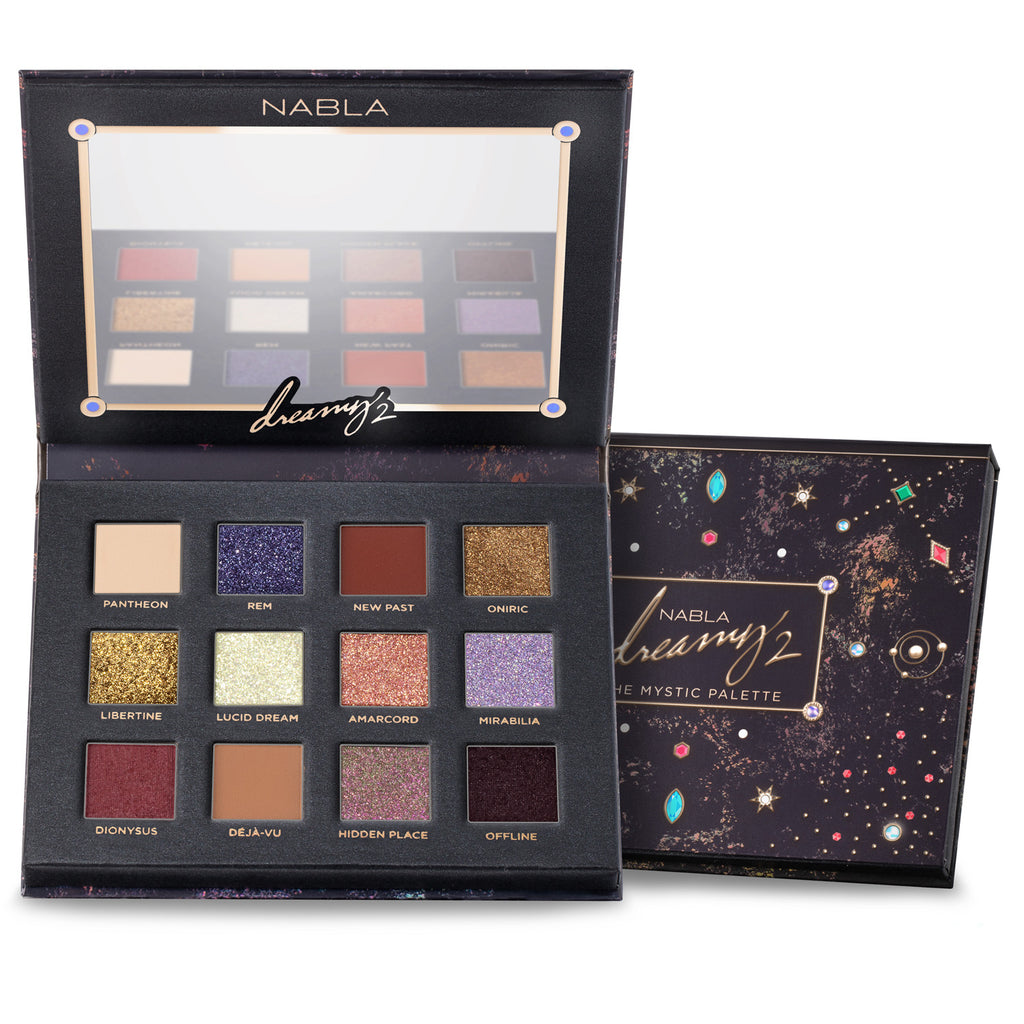 NABLA Dreamy 2 Eyeshadow Palette (Mystic collection)