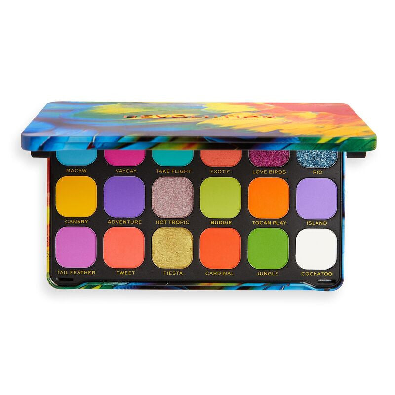 Makeup Revolution Forever Flawless Bird of Paradise Shadow Palette