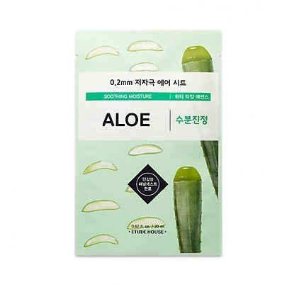 ETUDE HOUSE Aloe Vera Sheet Mask