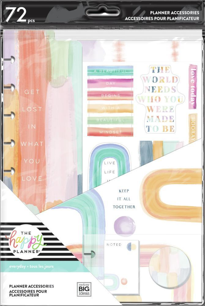 Happy Planner Classic Accessory Pack - Painterly Pastels
