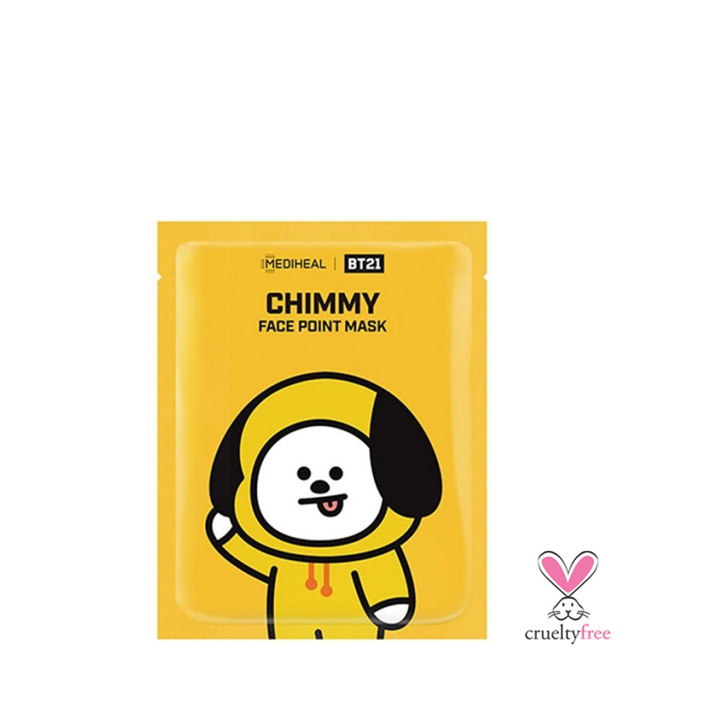 MEDIHEAL BT21 Face Point Mask - Chimmy