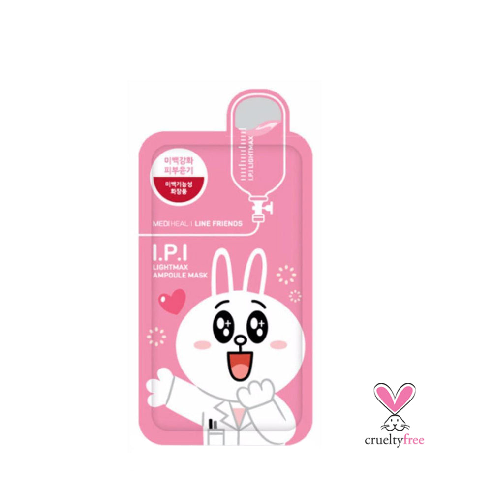 MEDIHEAL Line Friends I.P.I Lightmax Ampoule Mask