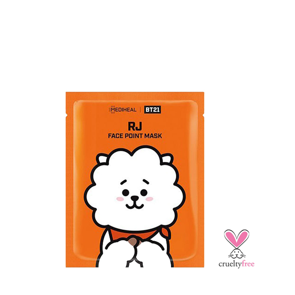 MEDIHEAL BT21 Face Point Mask - RJ