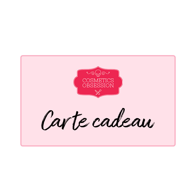 Carte cadeau Cosmetics Obsession