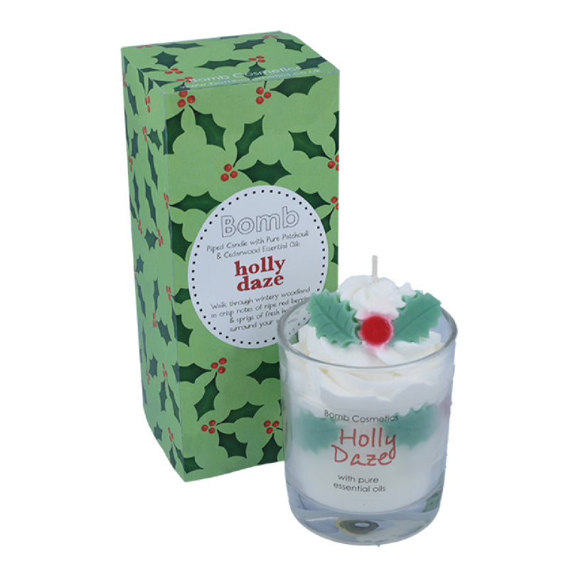 Holly daze candle - Bomb Cosmetics
