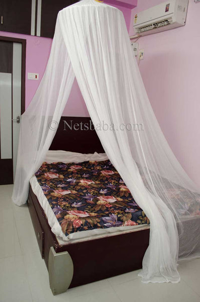 Cotton Mosquito Net - Round Shape