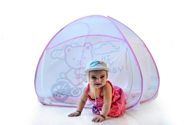 Baby Mosquito Net - Pink Color