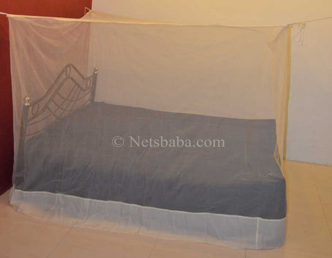 Poly Cotton Mosquito Net - Ivory