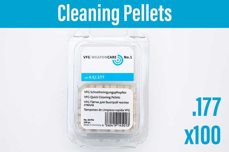 VFG Weaponcare No.1 Cleaning Pellets .177cal