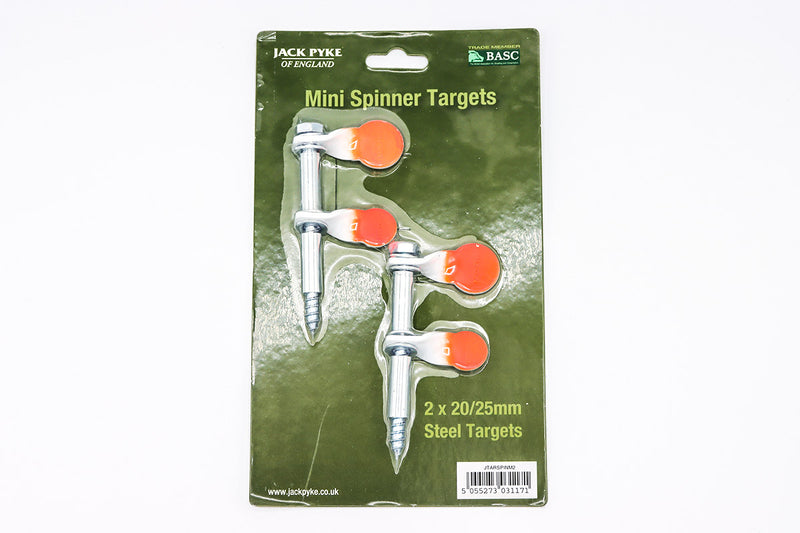 Double Mini Spinner Targets - 2x20/25mm