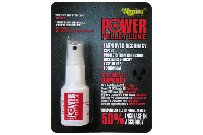 Napier Power Pellet Lube Spray - 25ml