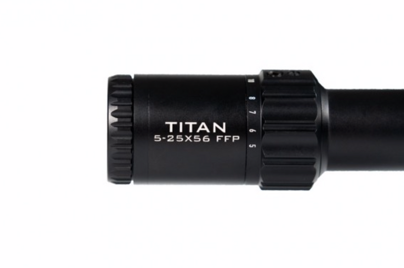 Element Optics Titan 5-25x56 FFP HER-1C MOA Scope