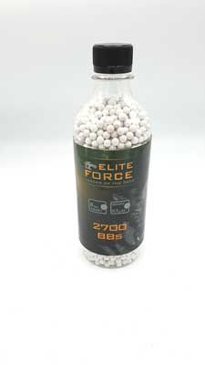 Umarex Elite Force Airsoft 6mm BB 0.3g - 2700 White